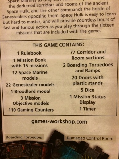A full list of box contents.