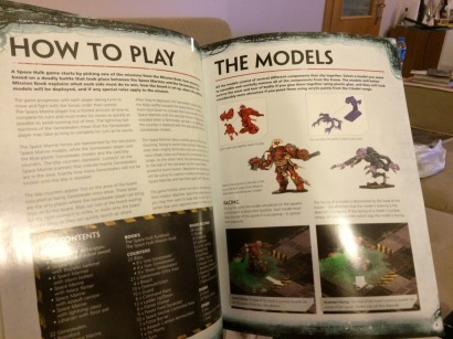 Numerous illustrations show both amazing paint-jobs by the 'eavy Metal team and the core of the game.