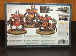 I'm going to opt for the box art colors... let's see if I can imitate an 'eavy Metal paint job!