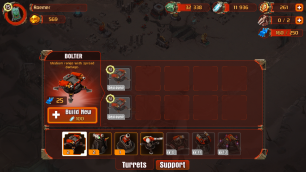 Base building involves defenses...