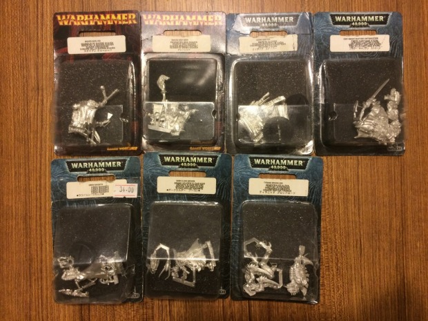 I picked up as many as I could. They're hard to find metal models at $7 a piece!
