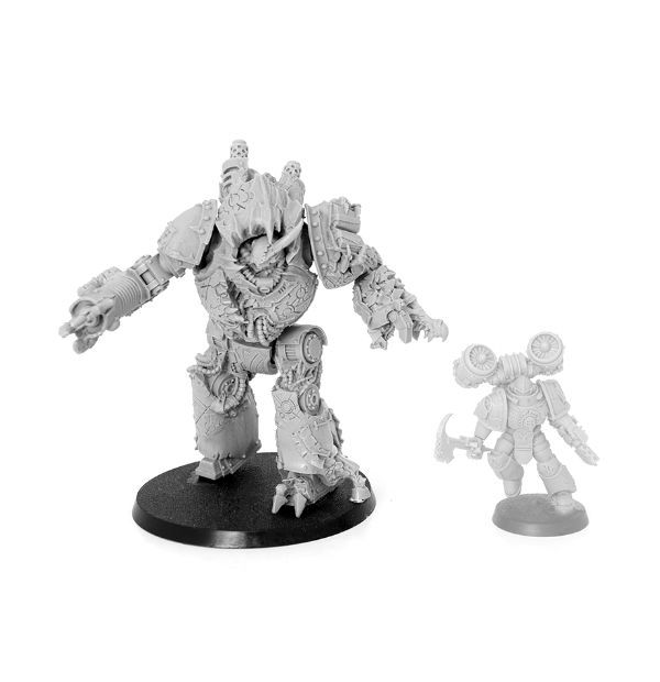 Featured image and this size comparison courtesy of Forgeworld.